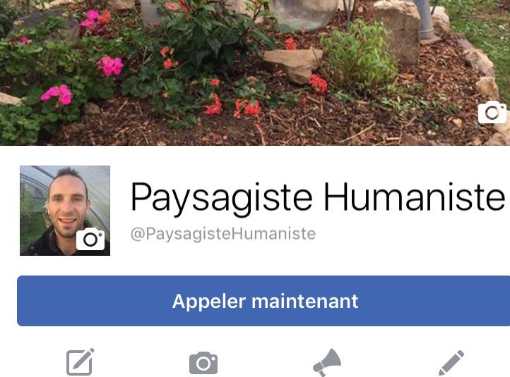 Ma page facebook : Paysagiste Humaniste